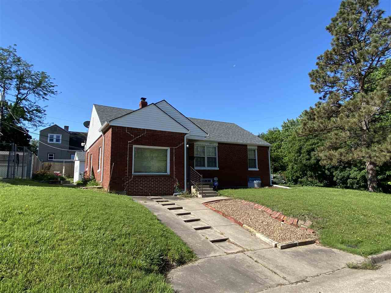 Cute home centrally located on corner lot. This 3 bedroom, 2 bathroom home features a large, detache
