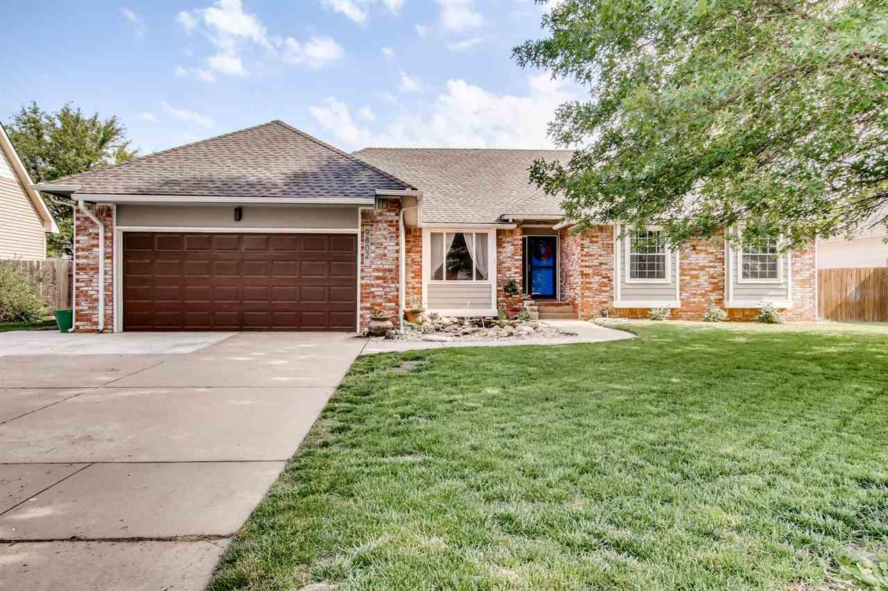 Newly listed residence listed in West Wichita with Maize Schools. Inground pool includes newer automatic cover. Owners have made the backyard for entertaining and gatherings. Main floor has 1600 sq ft of living area, remodeled master bath, two eating areas, two fire places. All bedrooms are oversized. Basement has two rec rooms and lots of storage.