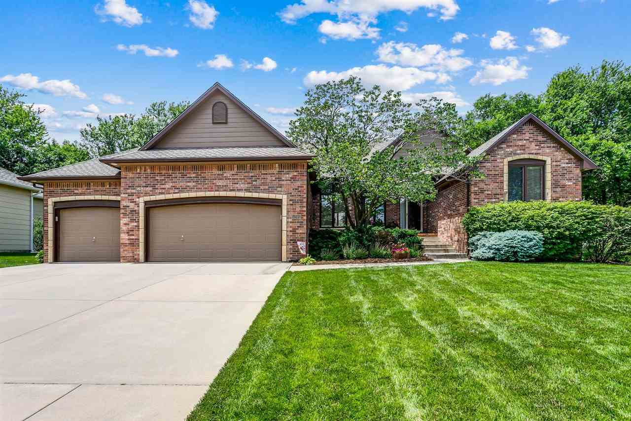 Welcome home to Hickory Creek, this beautiful 4 bedroom, 3 bathroom, oversized 3 car garage, home wa
