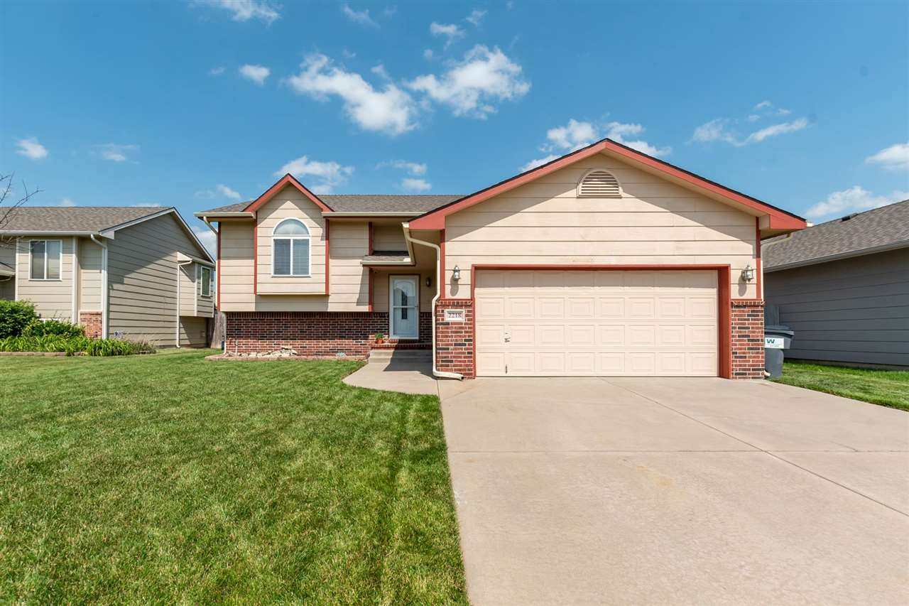 Well-maintained 4 bed, 2.5 bath home in the coveted Goddard school district. Upon entry you'll appri