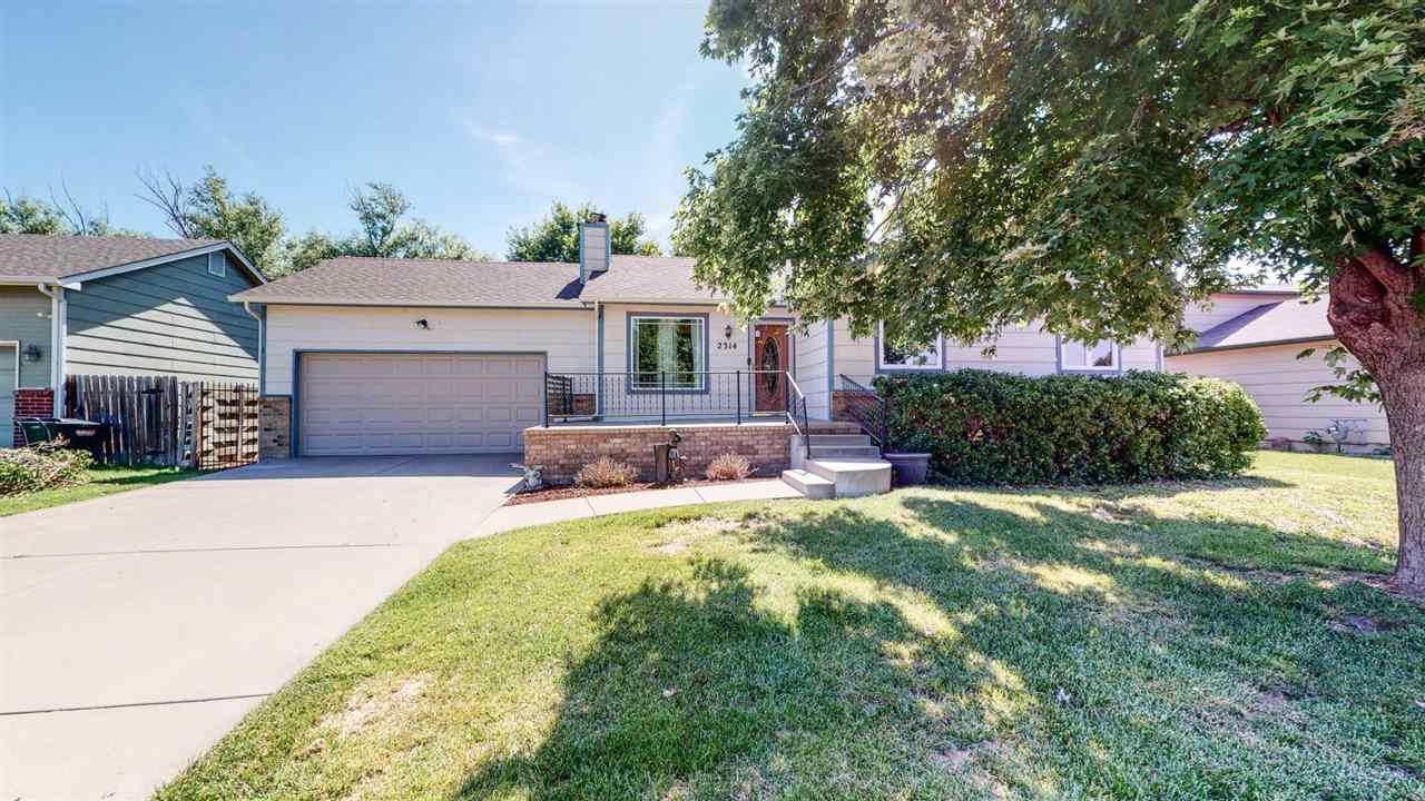 This 4 bedroom two bath home has a New HVAC system!  New Roof!   Newer windows.  Kitchen appliances