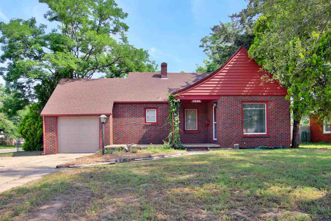 Stop by this charming 2 bedroom home near Riverside. Sits on a corner lot with a large fenced in bac