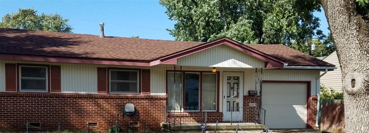 Three Bedroom and two full bath ranch on crawl space. No basement. Great investment Property or 1st