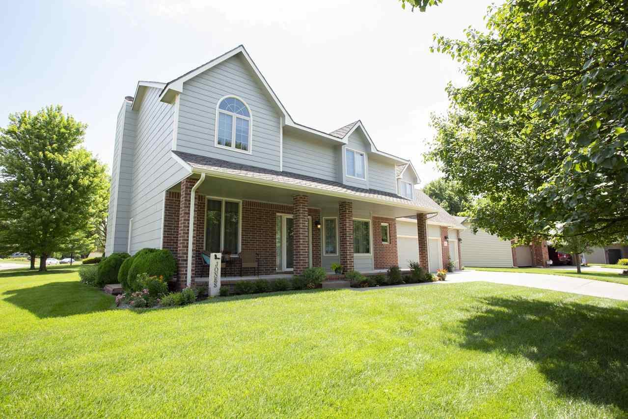 Fantastic 2 story home on large corner lot. Established area, landscaped with misc. shrubs, flowers