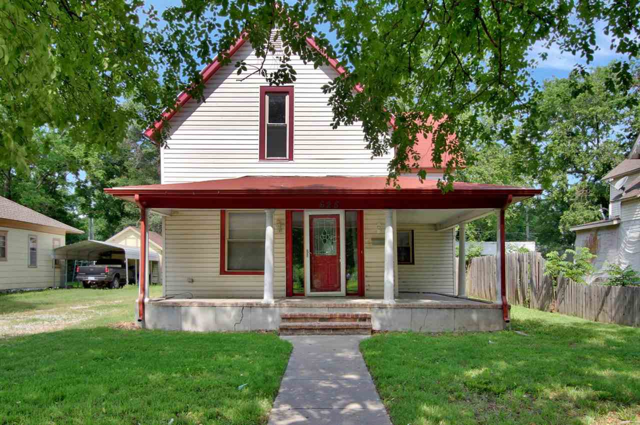 Don't miss out on this spacious two-story home near Friends University in West Wichita!  The mature