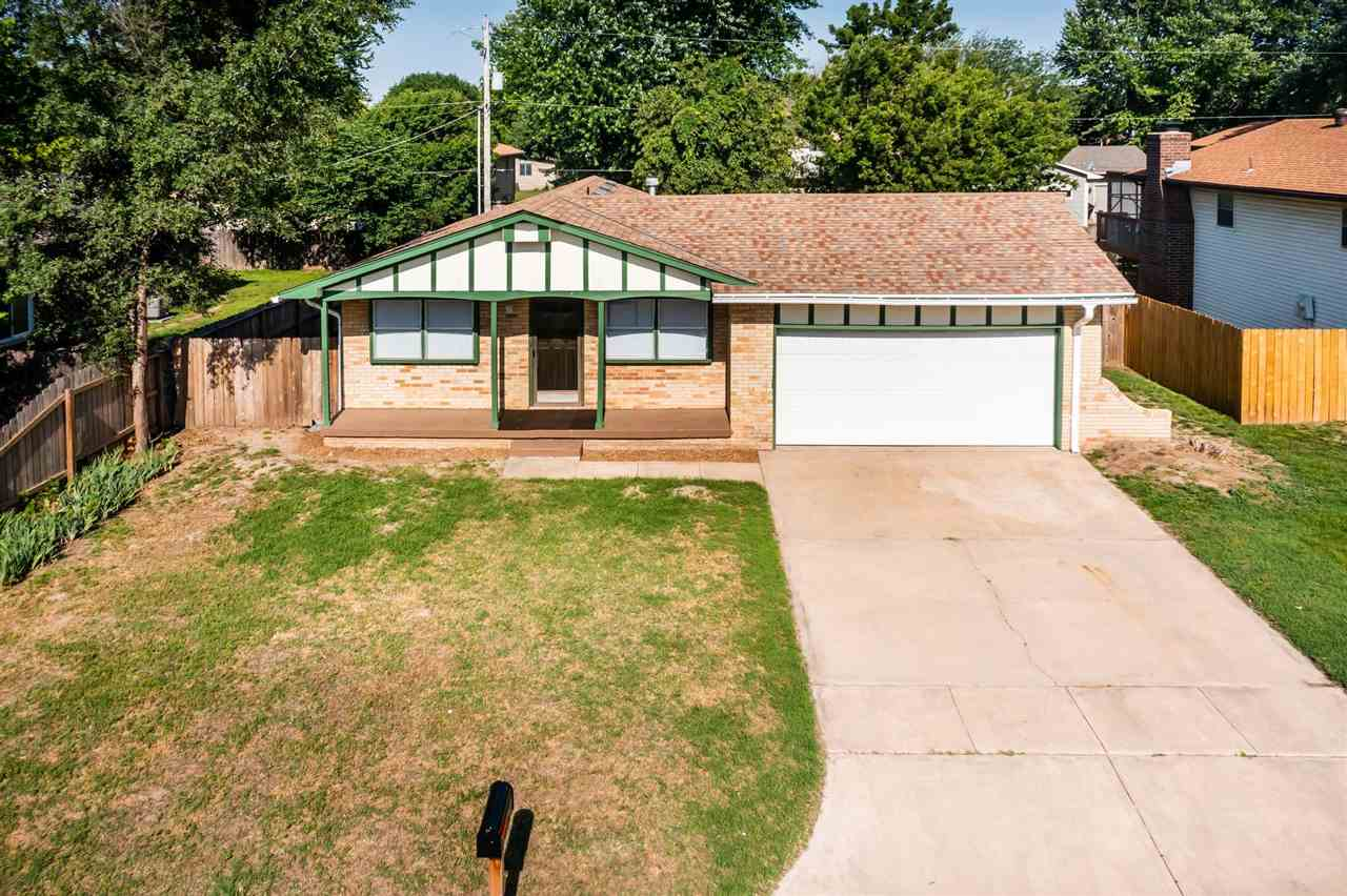 This one owner home is neat and tidy and ready for it's new owners.  There is a cute covered porch t