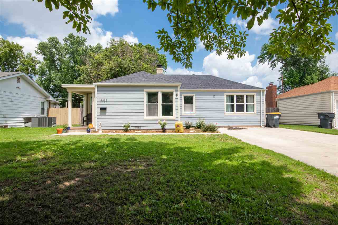 Come see this well cared for home in south Wichita! This 3 bedroom, 2 bathroom home has beautiful or