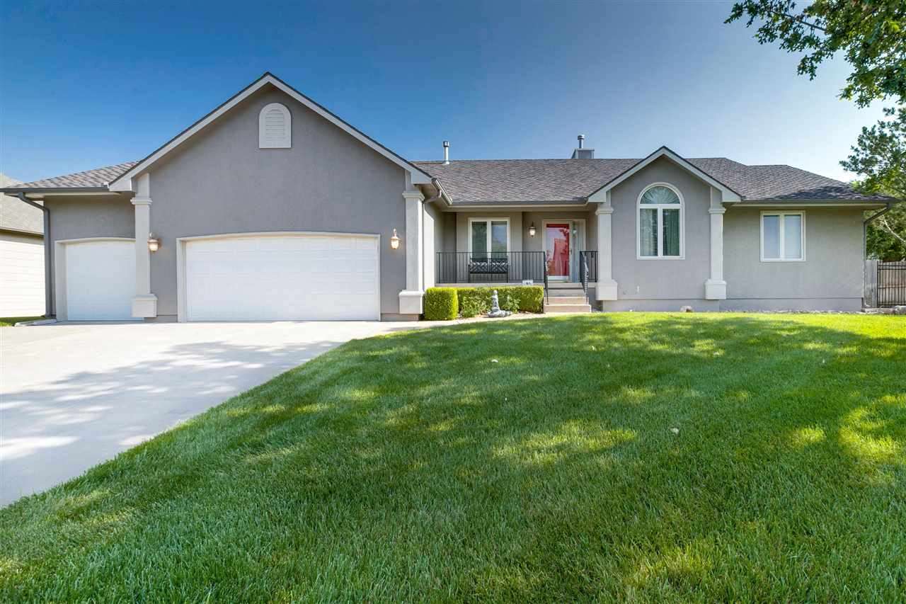 This is a one owner home with so many great features.   There are four bedrooms, three bathrooms, th