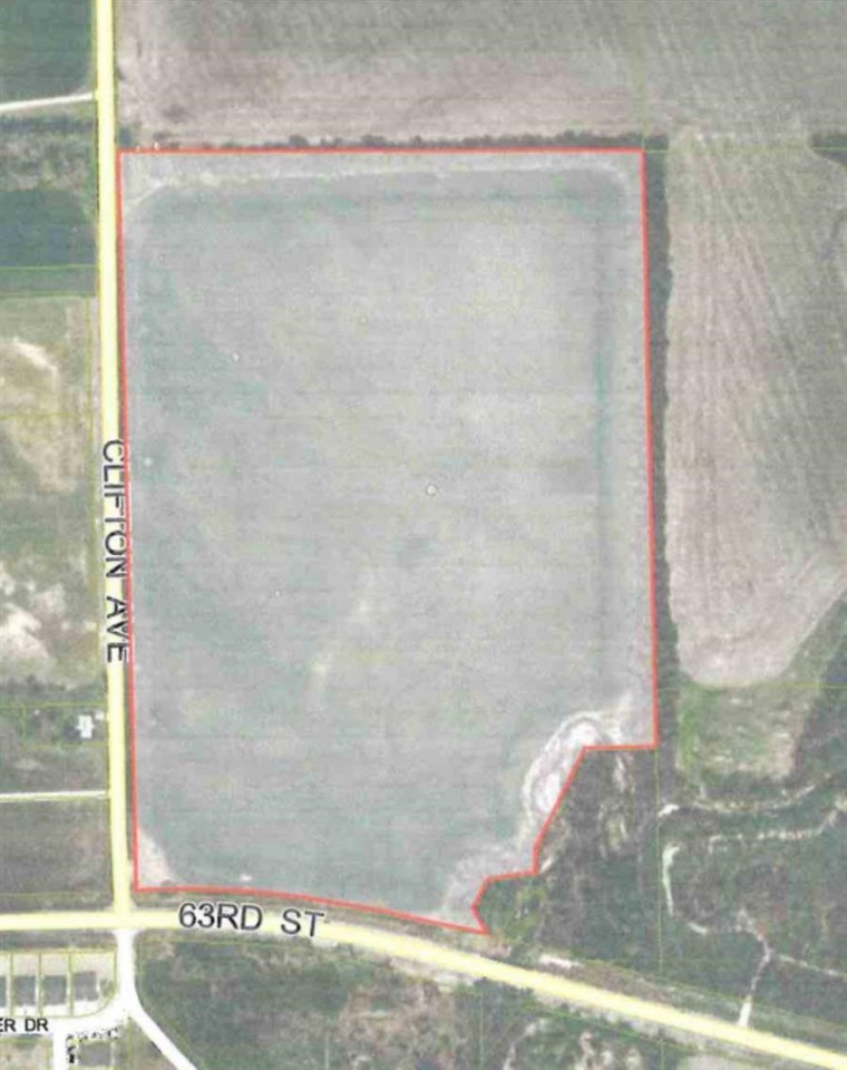 Great opportunity for development in the Derby School District!!!  52.6 acres at the North East corner of 63rd and Clifton