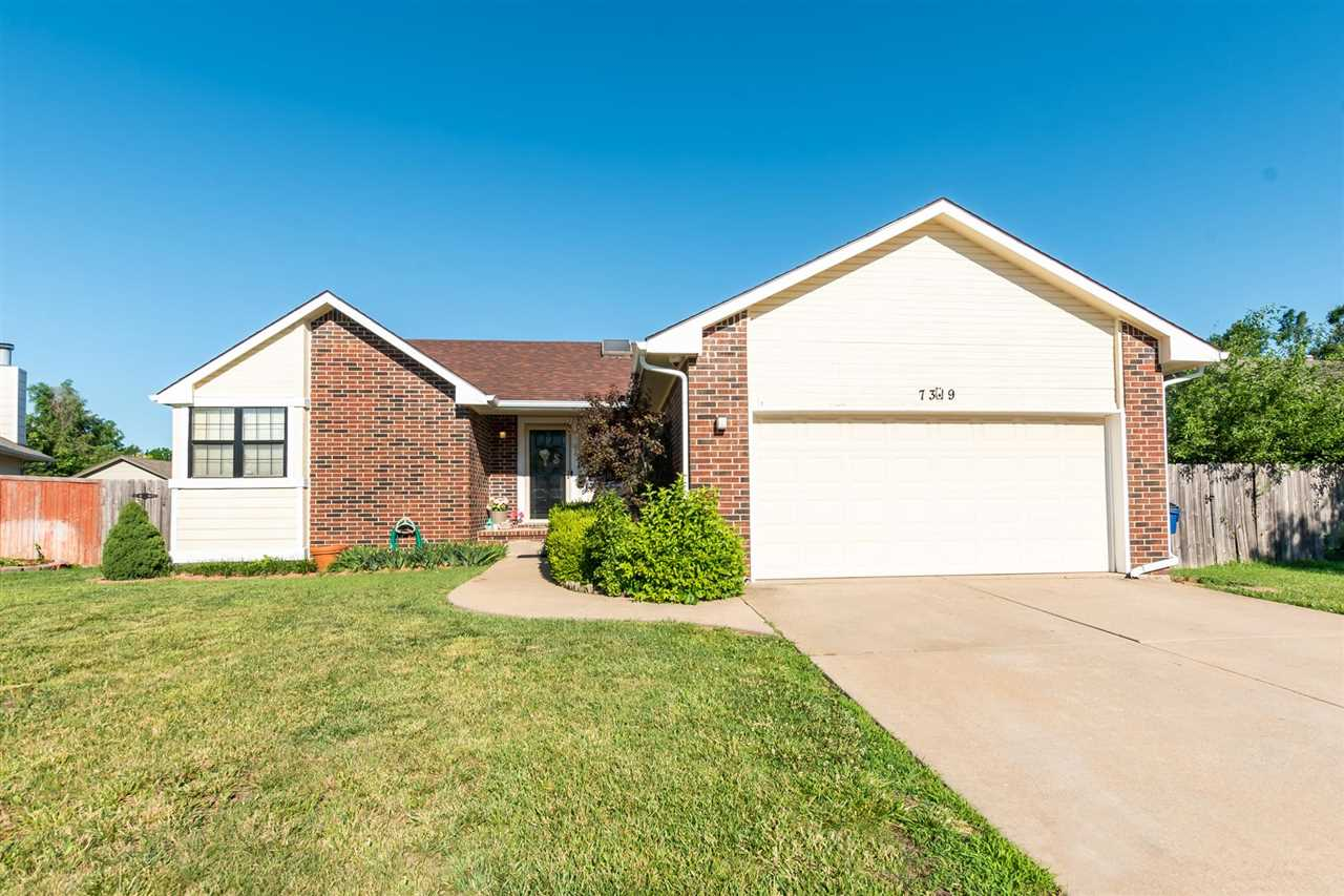 Recently remodeled ranch home in popular Northeast Wichita. Large storage room and family room in th