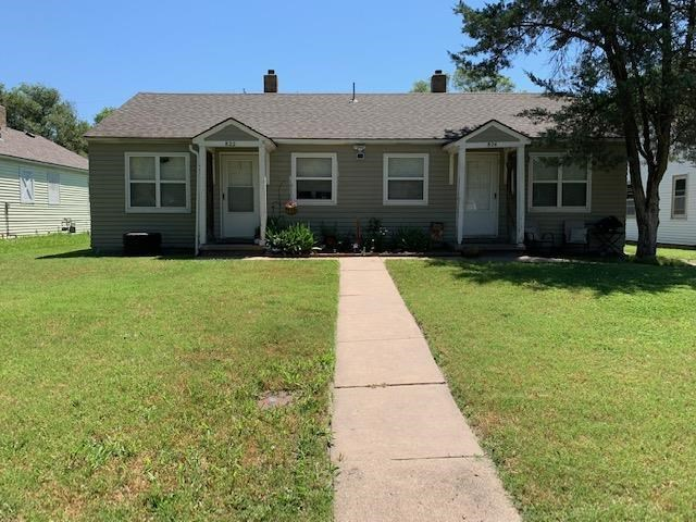 Attention Investors!!  Nice duplex with 1 bedroom and 1 bath each.  One unit has been updated.  Some hardwood floors.  Central HVAC.  Stove and refrigerator stay in each unit.  Newer water heater.  Roof was new in 2013.  Cash and conventional contracts only.  Duplex to be sold as is - seller will not make repairs.  Call to schedule your private showing today!