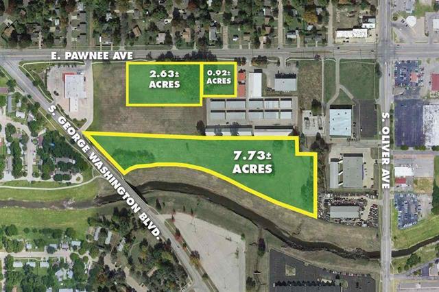 For Sale: 7.73  +/- Acres, Wichita KS