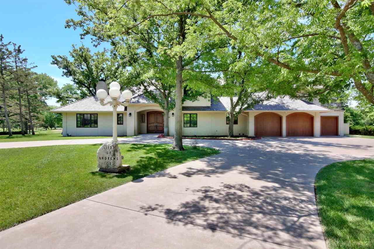 LOCATION, LOCATION, LOCATION! Offering over 5,000 sq ft, this one-owner, custom built executive home