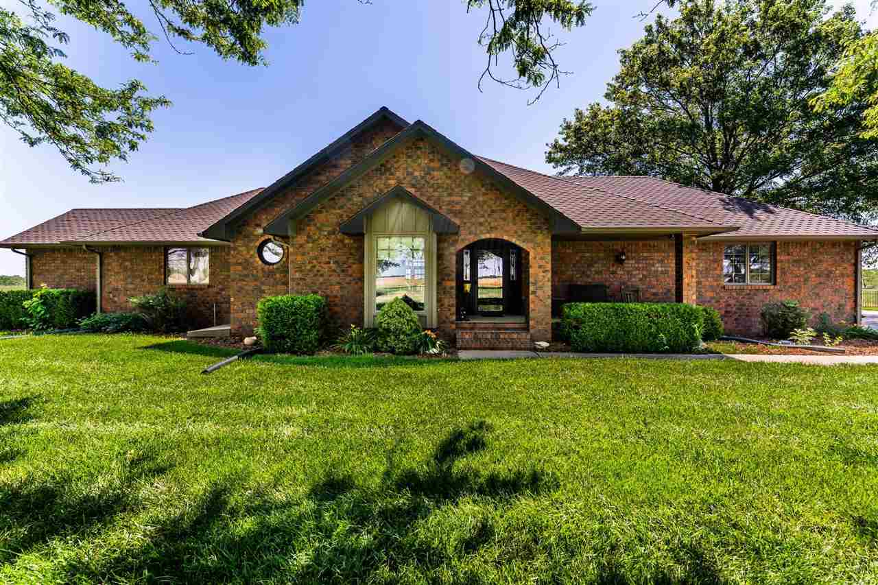 Welcome Home to 1730 S. 279th W., tucked away on a quiet country road just outside of Goddard, this