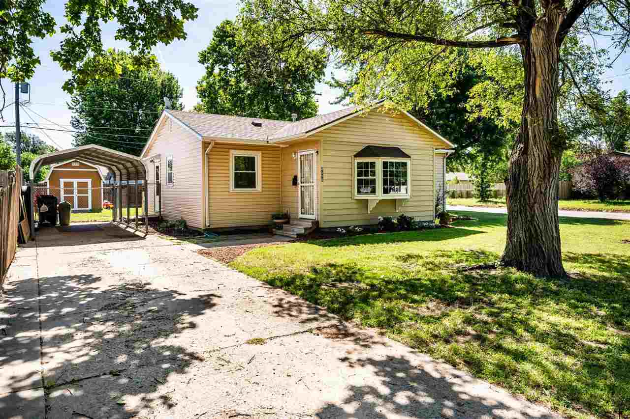 WELCOME HOME! This adorable, move-in-ready house is waiting for you! The home is host to three bedro