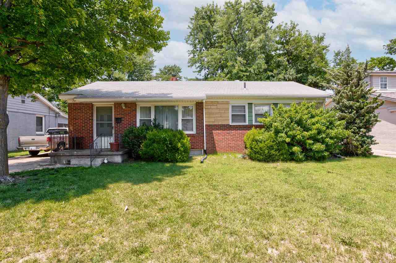 All Brick Ranch with a Large Sunroom addition.  Full Basement!  Nice location!