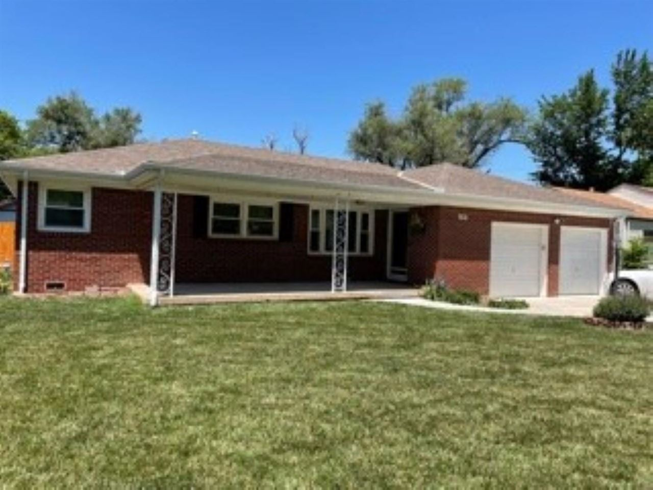 Clean, well kept all brick ranch with over 1900 square feet of living space is a must see!  This ado