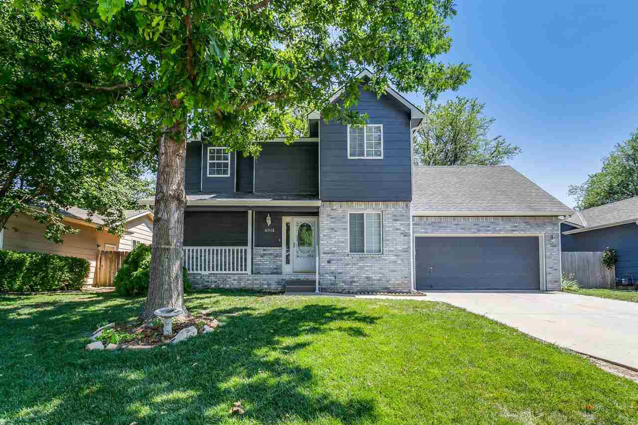 This wonderful home, located in the Maize School District, includes great family living space with a