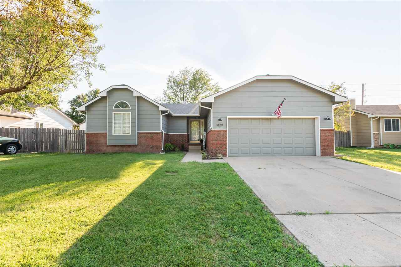 Welcome Home!! This 4 bed 3 bath home is located in Maize schools and conveniently located to shoppi