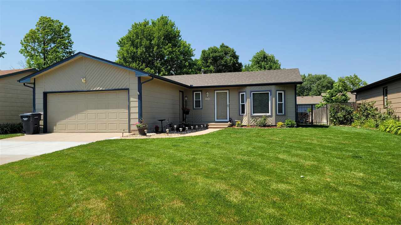 Wonderful Ranch Home in West Wichita! Great location offering 3 Beds / 2 Baths with 2 Car Attached G