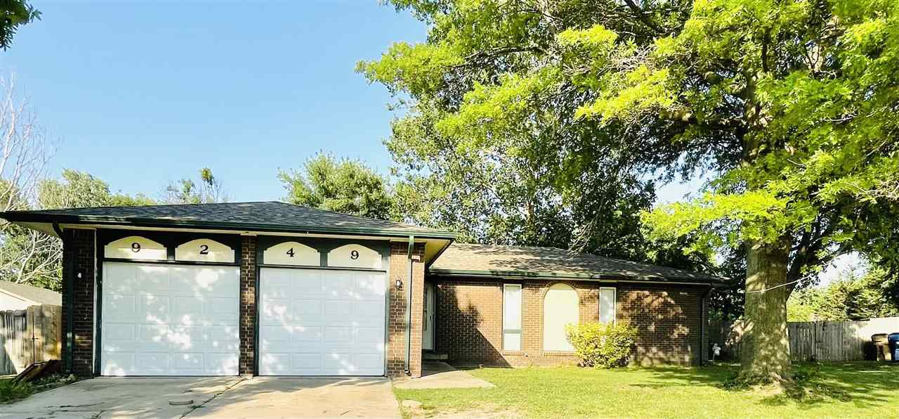 Is this great property with 1/3 acre back yard at the end of the cul-de-sac in east Wichita your new