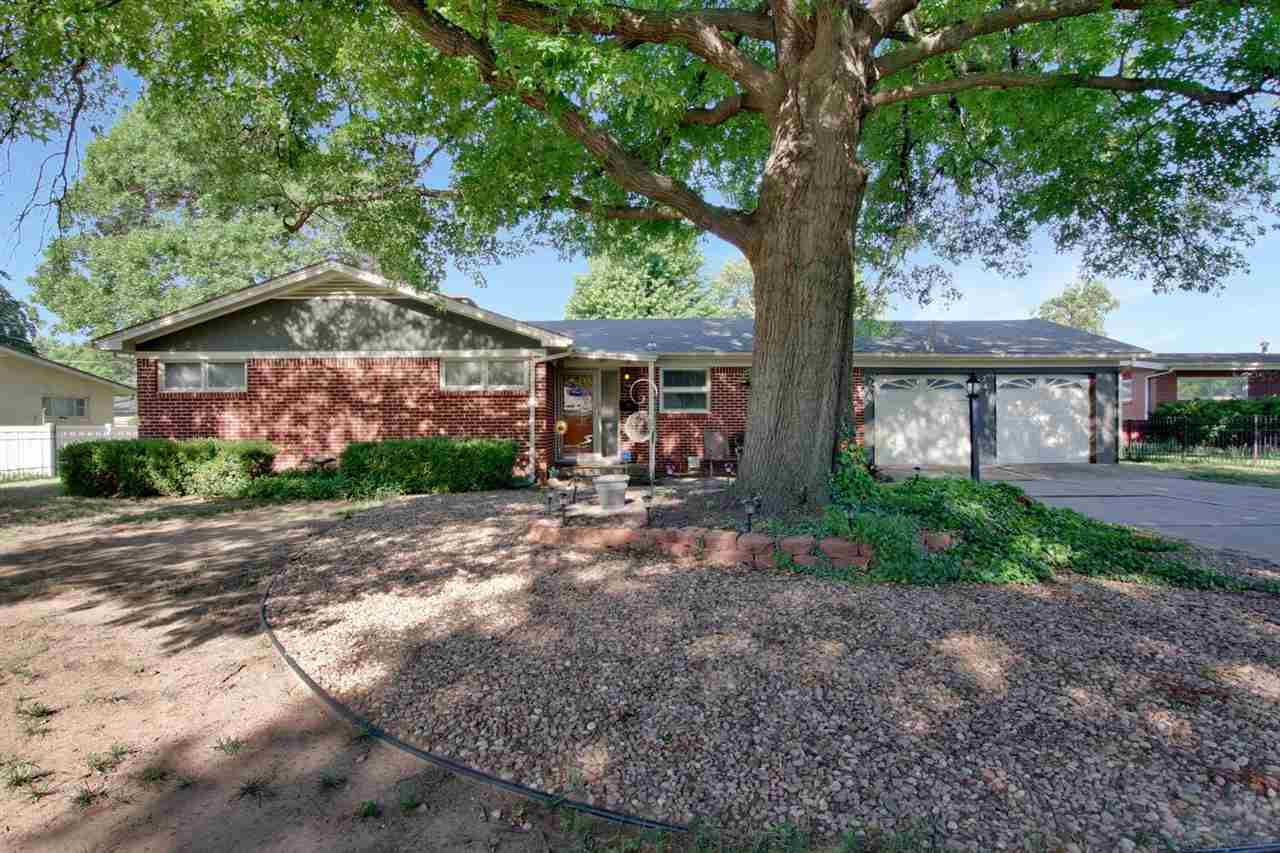 Lovely 3 bedroom, 1 1/2 bath brick ranch ready for a new owner.  Spacious living room with cozy fire