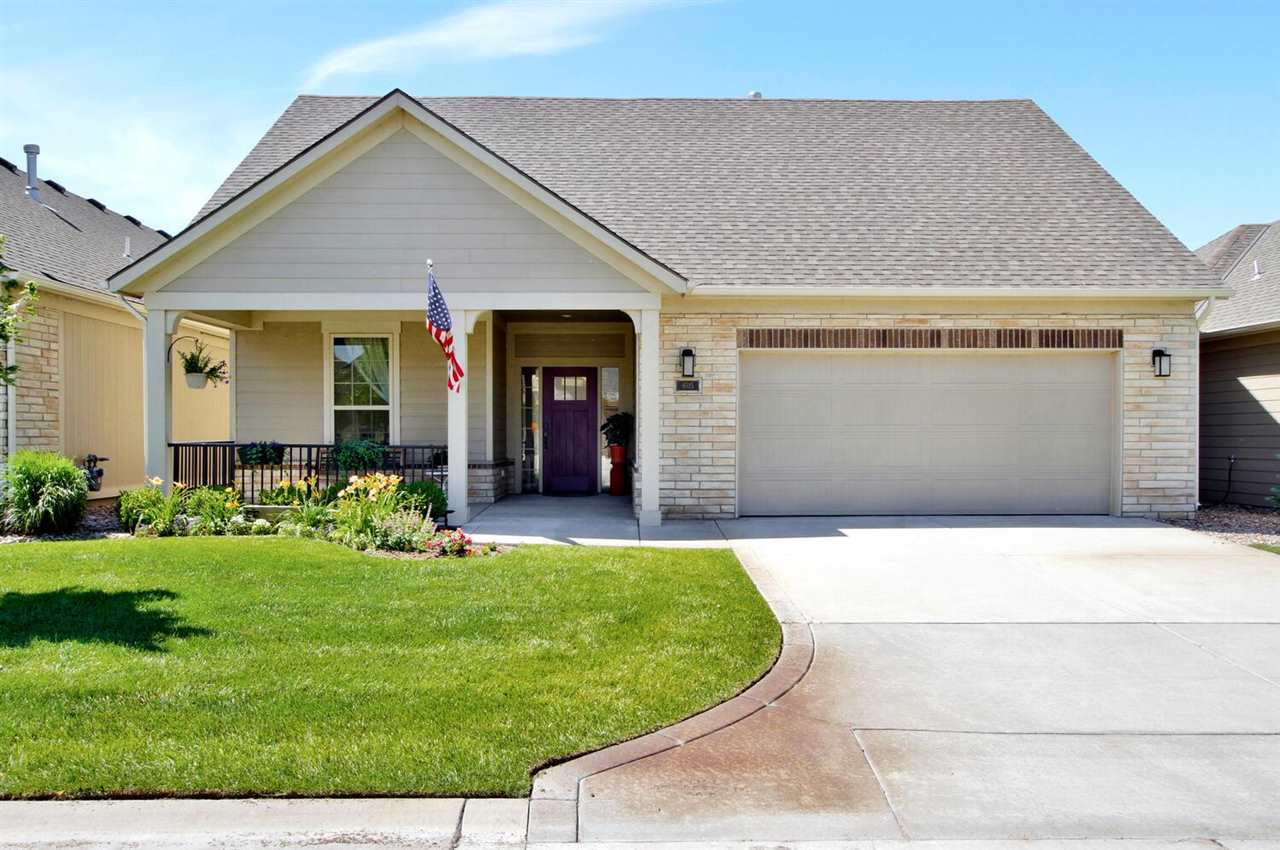 Beautiful zero-entry, still so very new, 2 bedroom 2 bath patio home with 2 bonus rooms and 2 car at