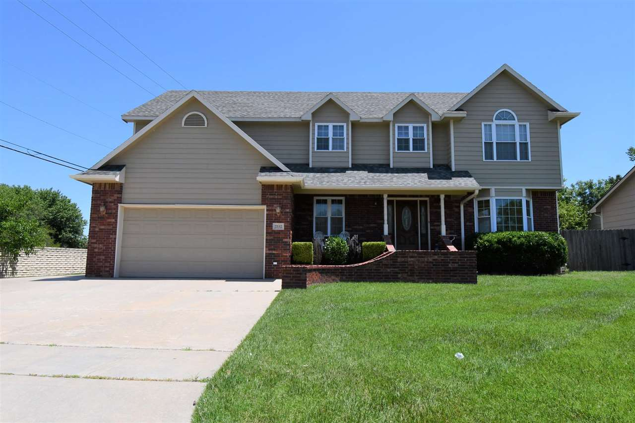Over 3100 finished square foot Custom built home in Crestview Heights.  Home boasts two Master bedro