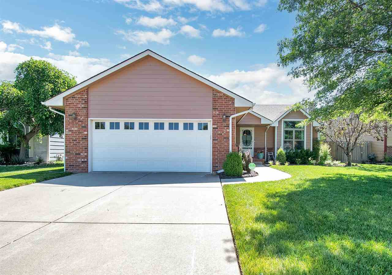 Welcome home to this well maintained and move in ready home located in the desirable Maize school di