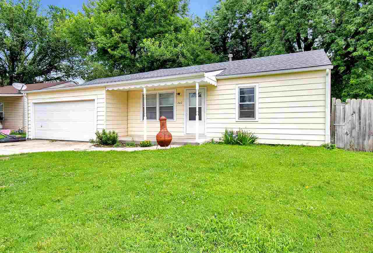 Charming home with 3 bedrooms, 1 bathroom and a separate dining room. All appliances stay with the h