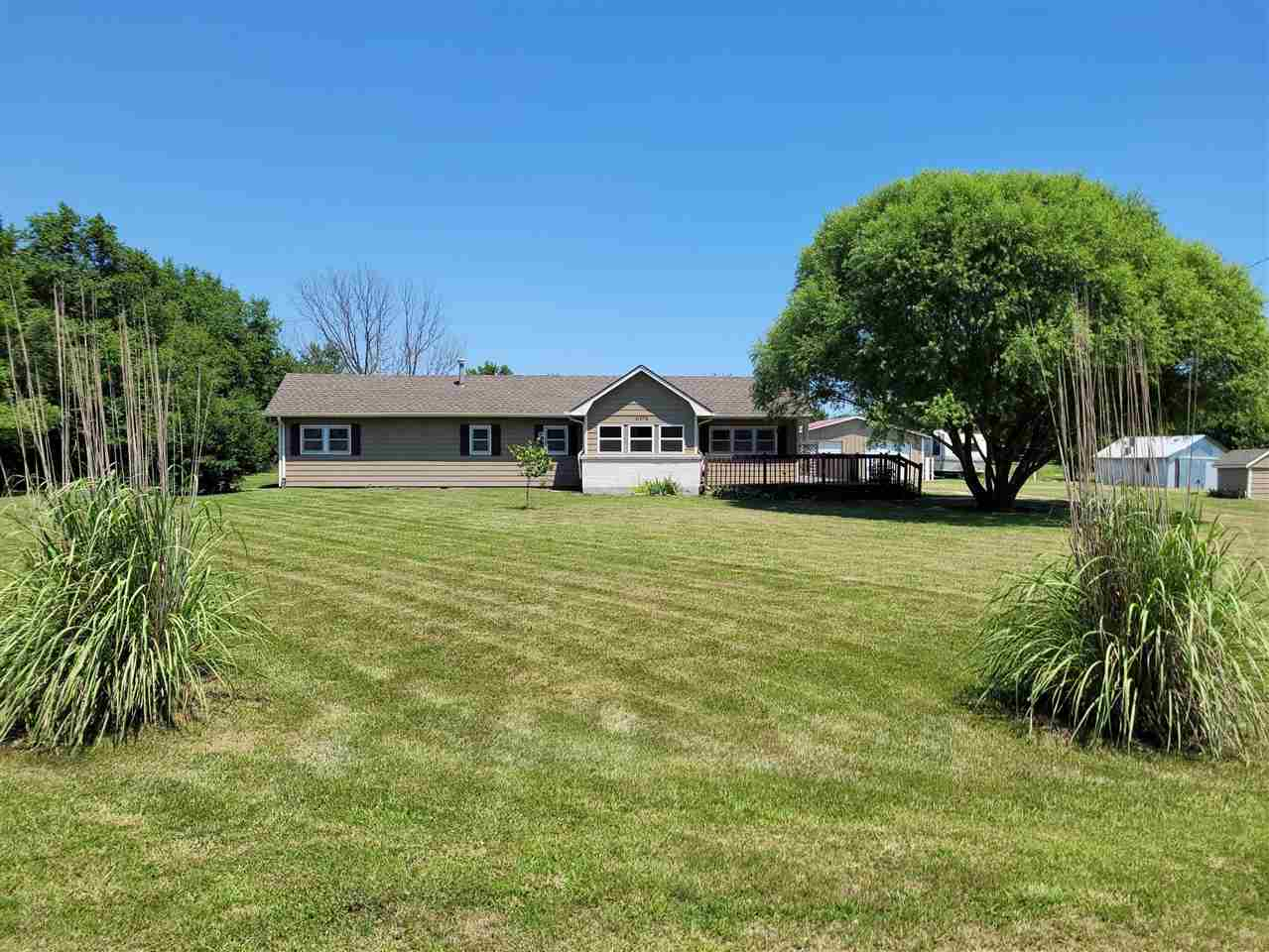 Peaceful setting located only about a 1/4 mile off paved road is this newly remodeled home with 3 be