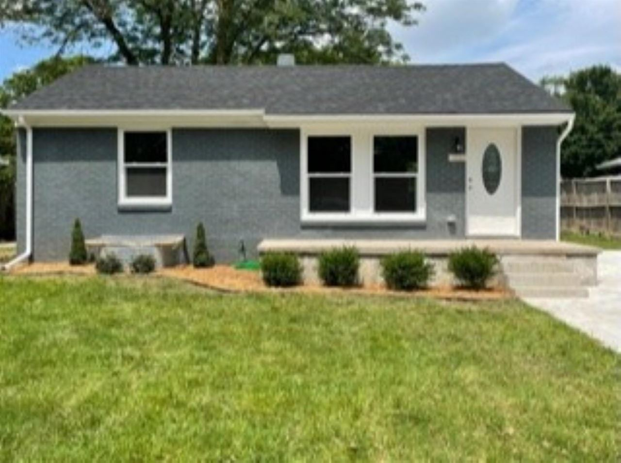 NEW, NEW, NEW!!!  Everything in this 4 bedroom 2 bath home is NEW!  New wood laminate, new carpet, b