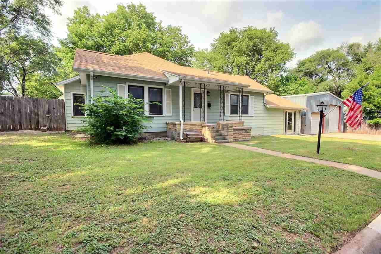 New Price for this Augusta home with aluminum siding, nestled in a quiet side street with easy acces
