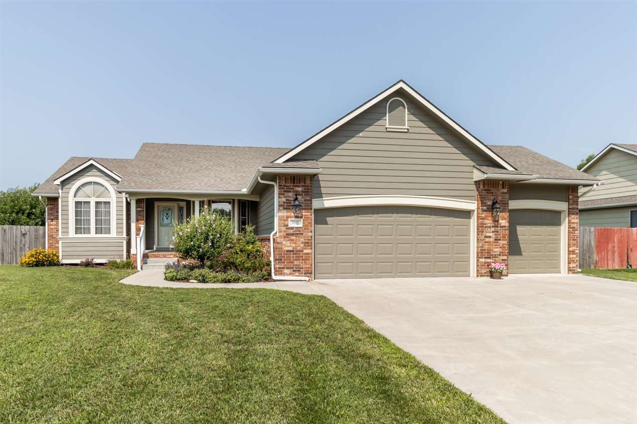 Welcome home to this beautiful ranch located in the heart of Autumn Glenn, one of Newton's most high