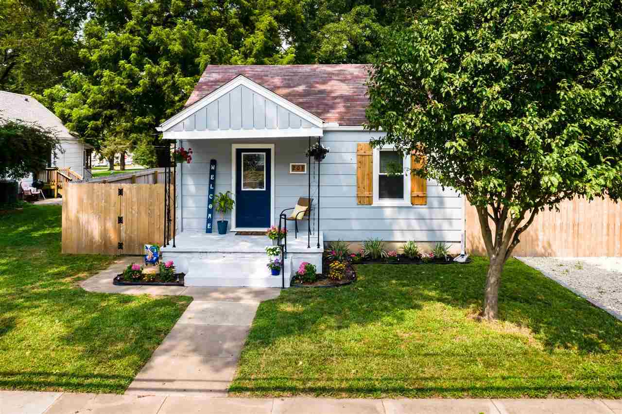 Welcome the this adorable, fully-remodeled Mulvane cottage! When you first walk up, you will see the