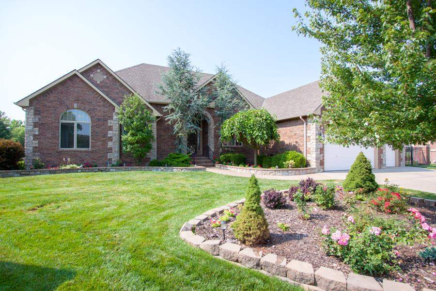 Don't miss the opportunity to see this beautifully landscaped home situated on the green for hole 6