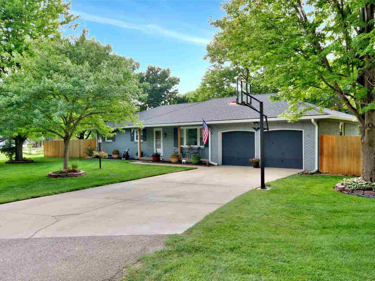 Don't Miss this opportunity in the Goddard school district.  This home features 4 bedrooms and 2 ful