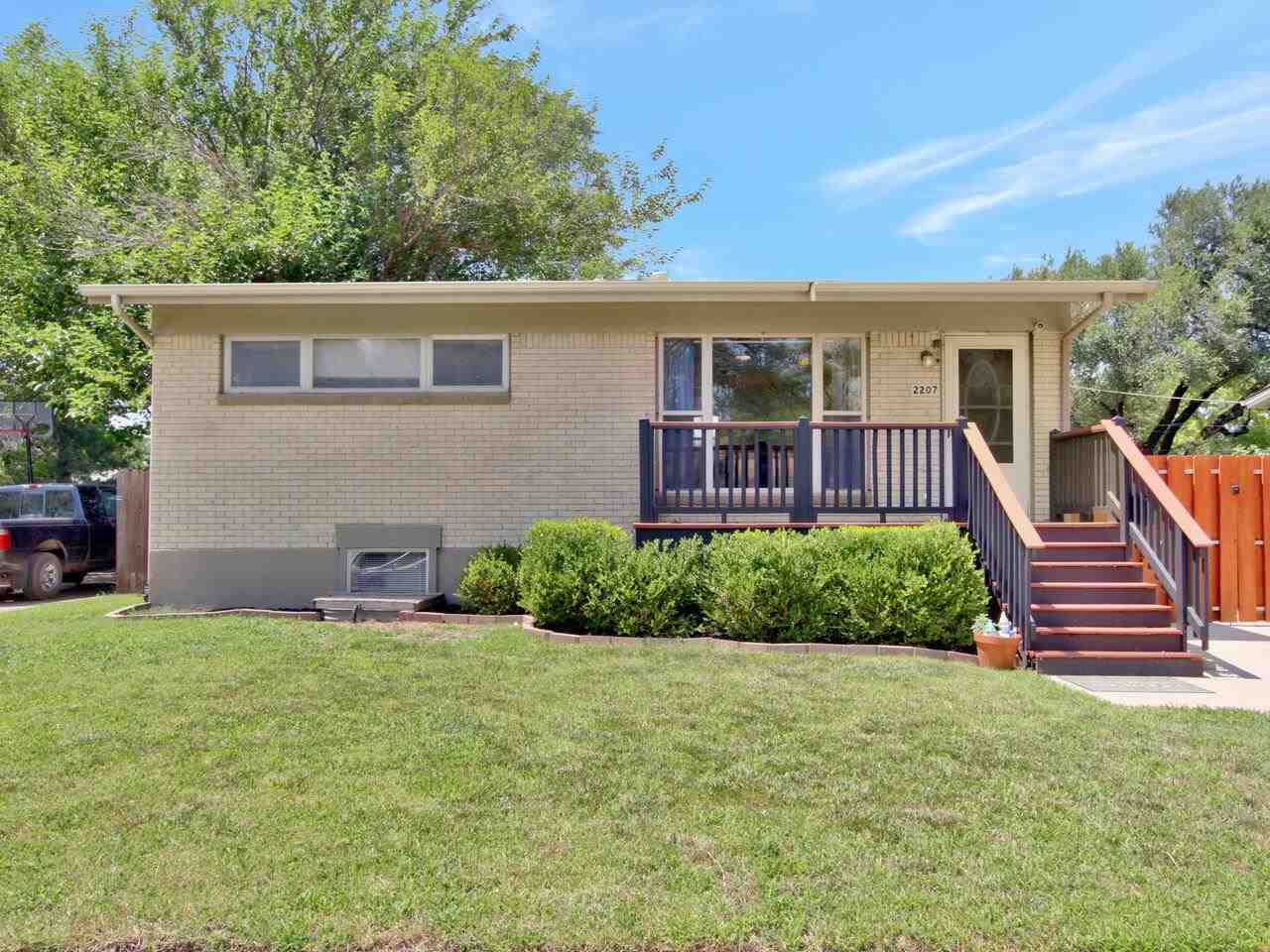 This one is neat, clean, and ready for a new family!  4 bedroom 2 bath with large yard is all freshl