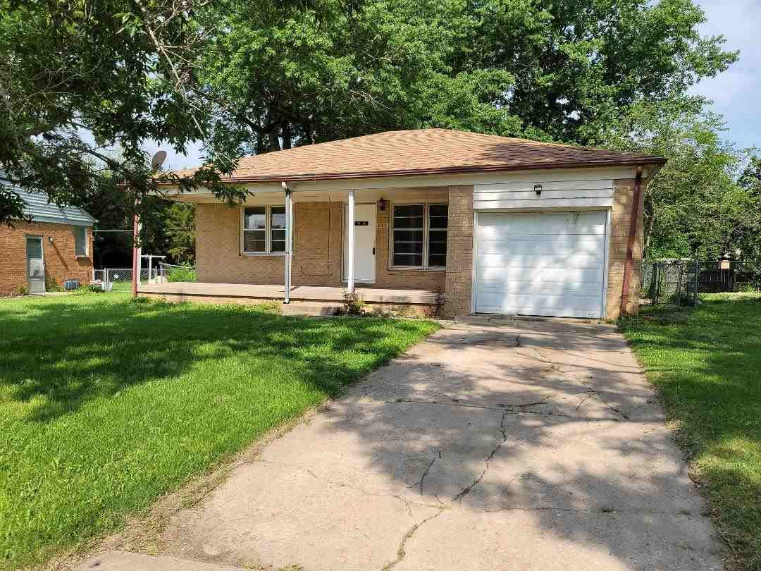 2 bed/1 bath home being sold in as is condition. 2 upstairs bedrooms and living room feature hardwoo