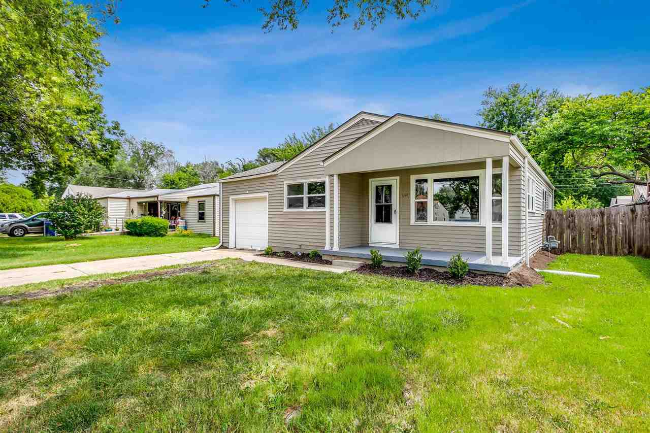 Come see this fantastic ranch home in south central Wichita! It has beautiful updates and new finish