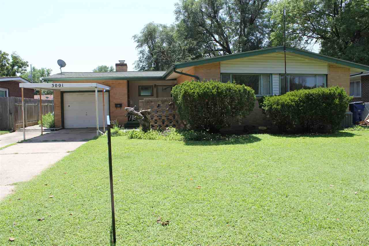 GREAT opportunity to make this your own home. Some TLC is needed and for the right buyer, this home