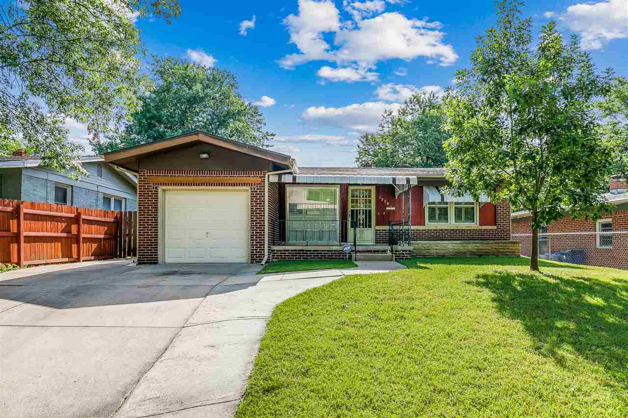 Welcome home to this all brick, move in ready ranch in east Wichita.  The entire home has been well