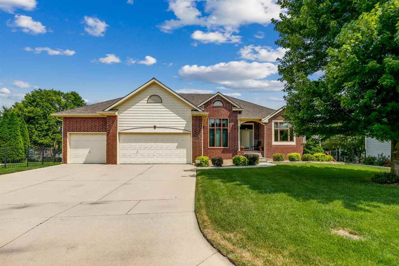 THIS IS A TRULY BEAUTIFUL ONE OWNER, CUSTOM BUILT HOME IN A DESIRABLE NEIGHBORHOOD. AS YOU  ENTER TH