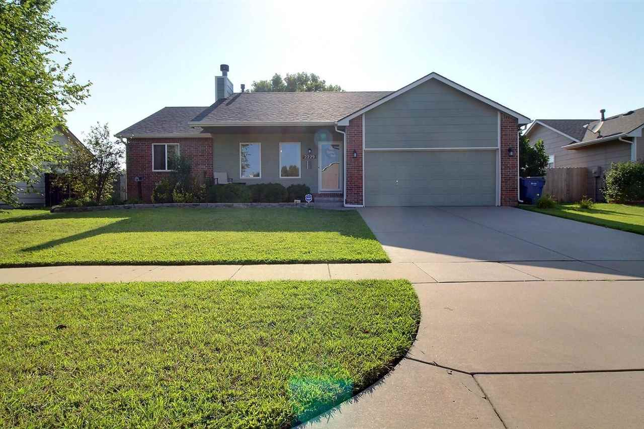 Absolutely stunning 5 bedroom, 3 bath ranch in Goddard schools with Wichita taxes!  Everything has b