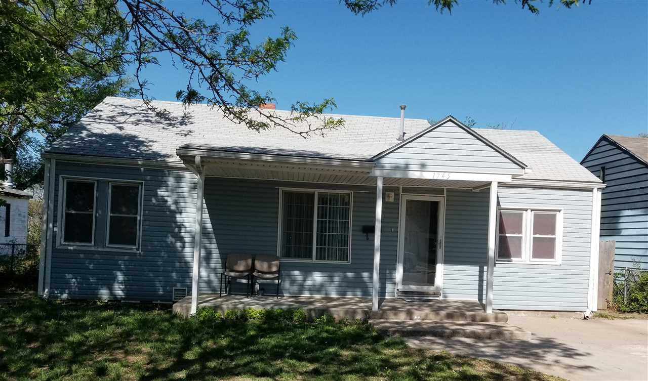 Nicely remodeled 3 bedroom, large covered porch.