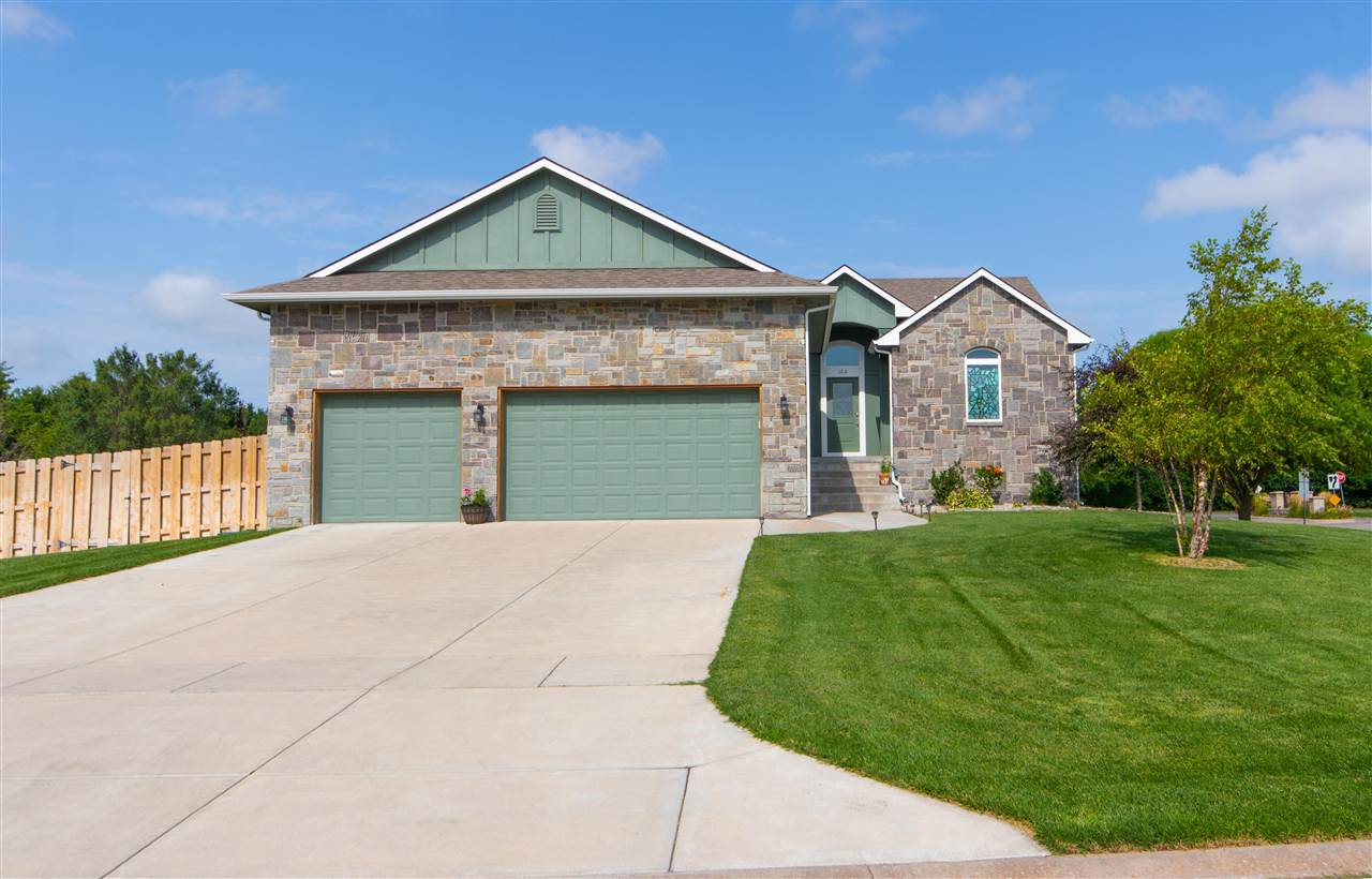 Don't miss out on this beautiful home in the family oriented community in the small-town setting of