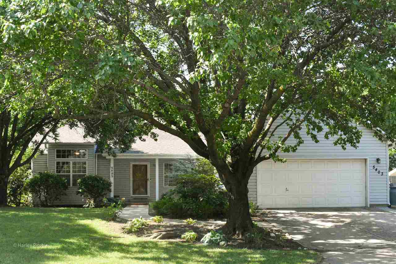 Perfectly set on a tree-shaded lot, this North Wichita beauty in Beacon Hill feels like home the min