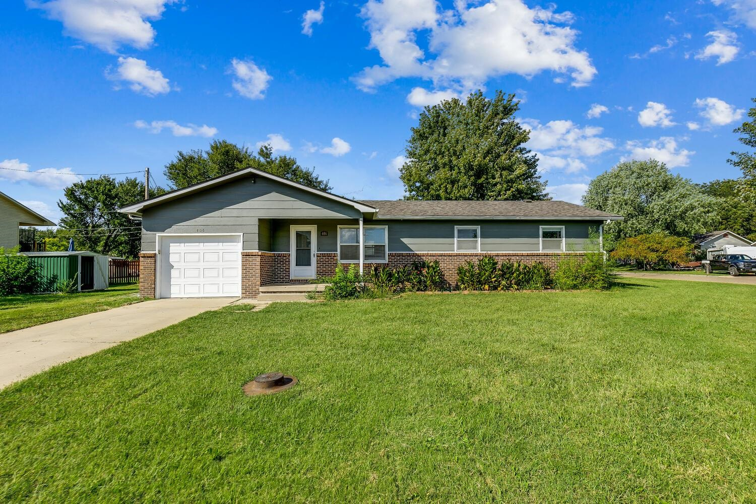 Beautifully updated 3 bedroom, 2 bath ranch home located on a corner lot in a quiet neighborhood. Op