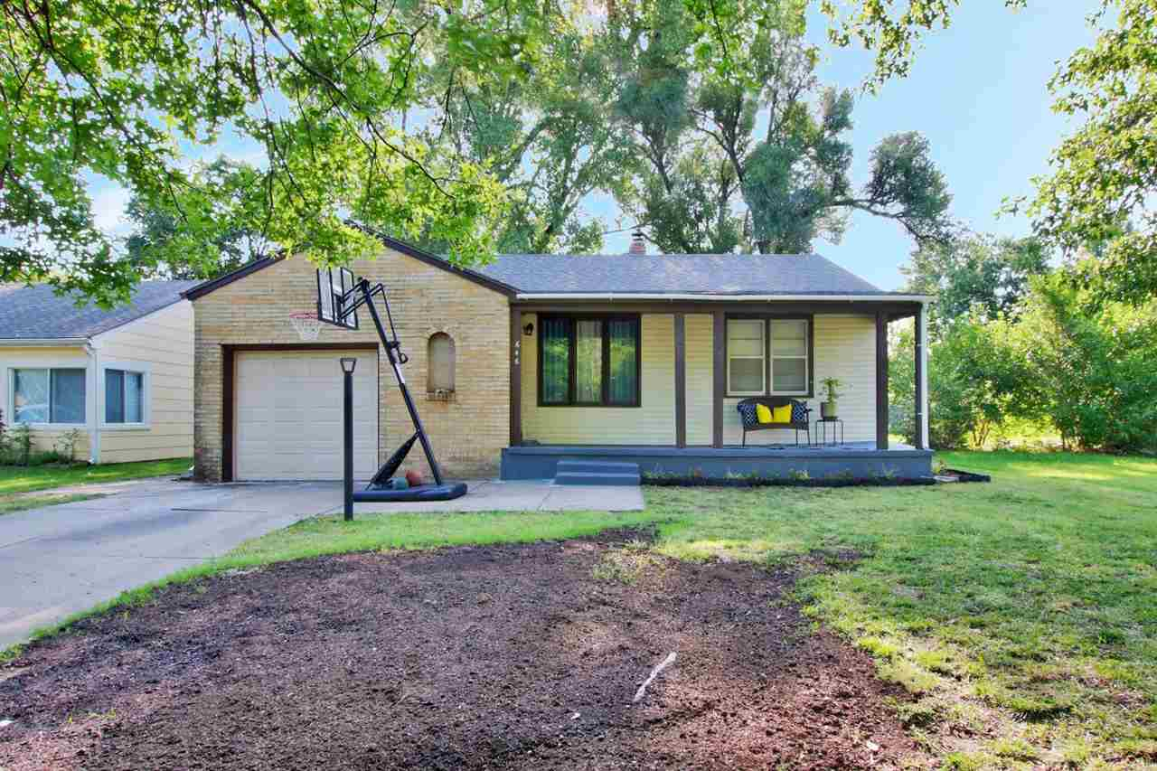 Updated super cute ranch home with 2 bedroom, 1 bathroom, 1 car garage with large basement family ro