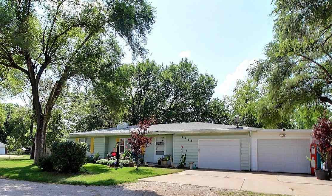 Knock, Knock. Who's there? Your new home.  This offers 2Bed, 1.5B ranch with beautiful yard, near ce
